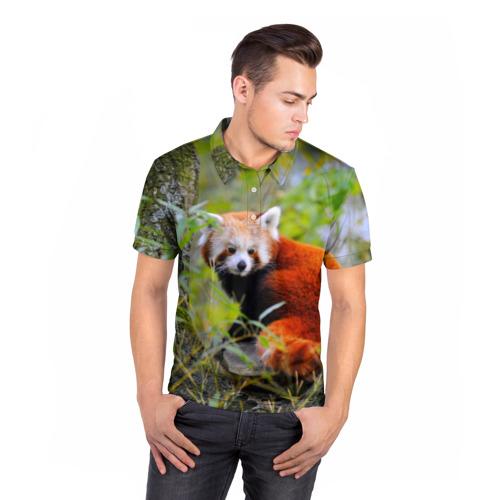 Мужская рубашка поло 3D  Фото 05, Зверек