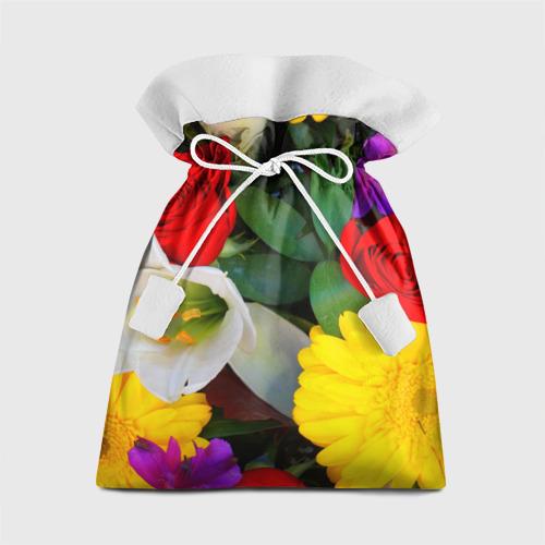 Подарочный 3D мешок Цветочки