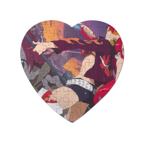 Пазл магнитный сердце 75 элементов  Фото 01, Две Йоко