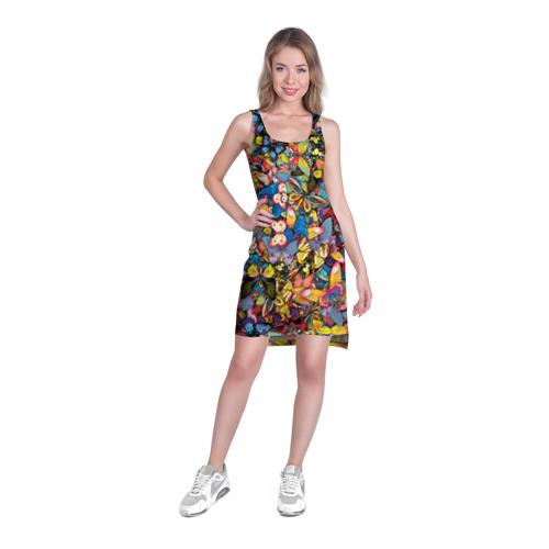 Платье-майка 3D  Фото 03, Бабочки