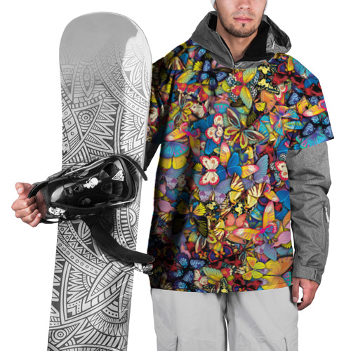Накидка на куртку 3D Бабочки Фото 01