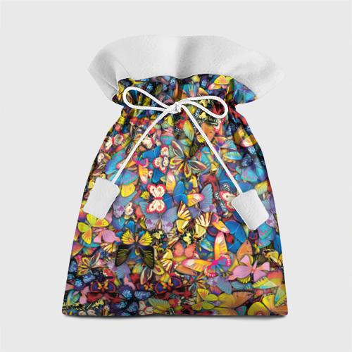 Подарочный 3D мешок Бабочки Фото 01