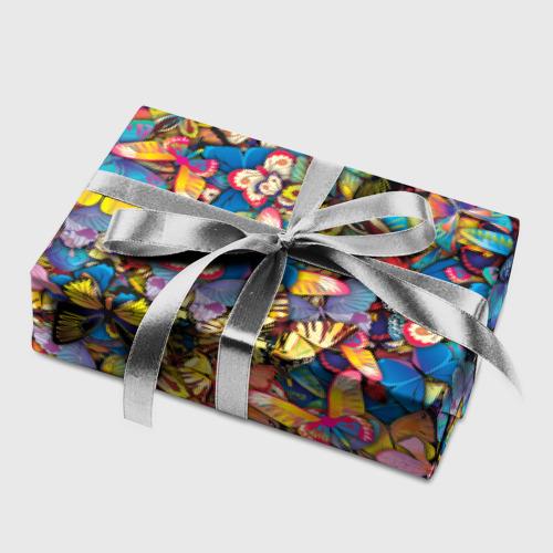 Бумага для упаковки 3D Бабочки Фото 01