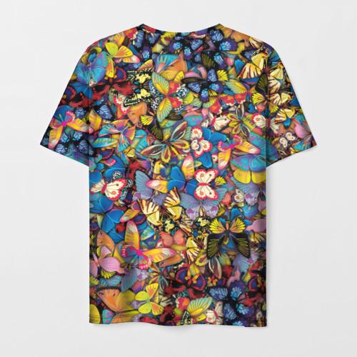 Мужская футболка 3D  Фото 02, Бабочки