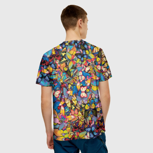 Мужская футболка 3D  Фото 04, Бабочки