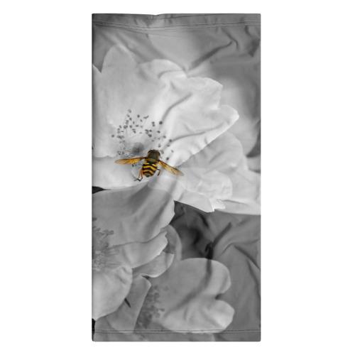 Бандана-труба 3D  Фото 06, Пчела на цветах