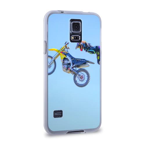 Чехол для Samsung Galaxy S5 силиконовый  Фото 02, Мотоспорт