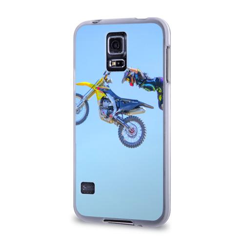 Чехол для Samsung Galaxy S5 силиконовый  Фото 03, Мотоспорт