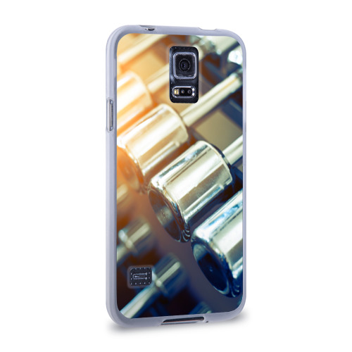 Чехол для Samsung Galaxy S5 силиконовый  Фото 02, Гантели