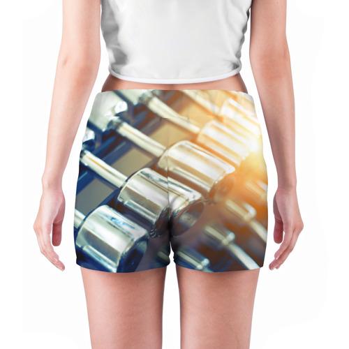 Женские шорты 3D  Фото 04, Гантели