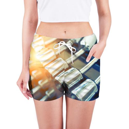 Женские шорты 3D  Фото 03, Гантели