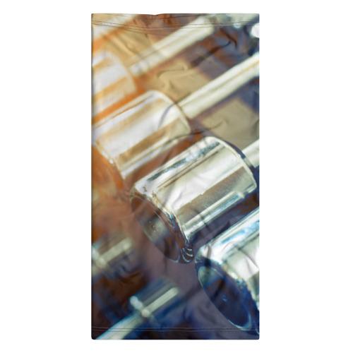 Бандана-труба 3D  Фото 07, Гантели