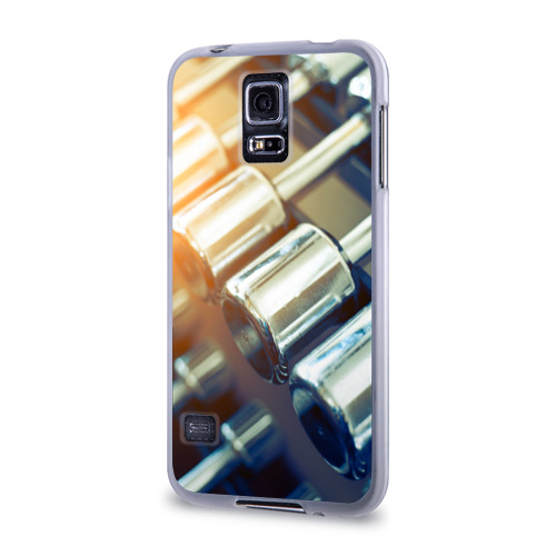 Чехол для Samsung Galaxy S5 силиконовый  Фото 03, Гантели