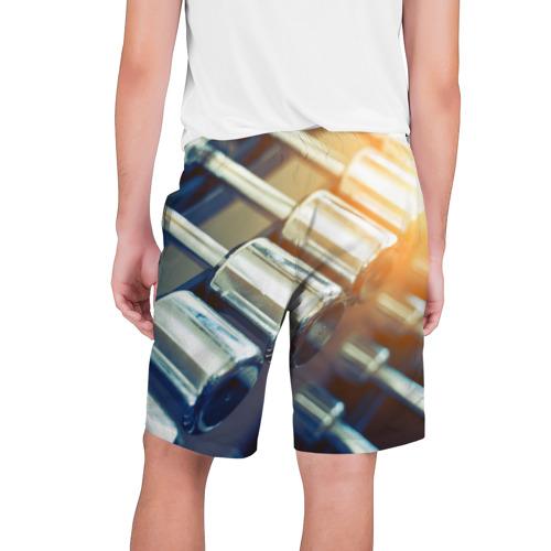 Мужские шорты 3D  Фото 02, Гантели