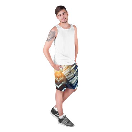 Мужские шорты 3D  Фото 03, Гантели