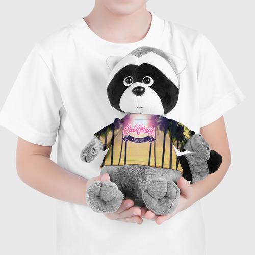 Енотик в футболке 3D  Фото 04, Калифорния