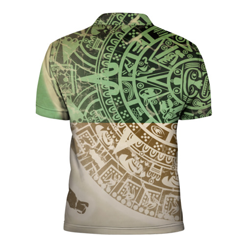Мужская рубашка поло 3D  Фото 02, Народ Майя 2