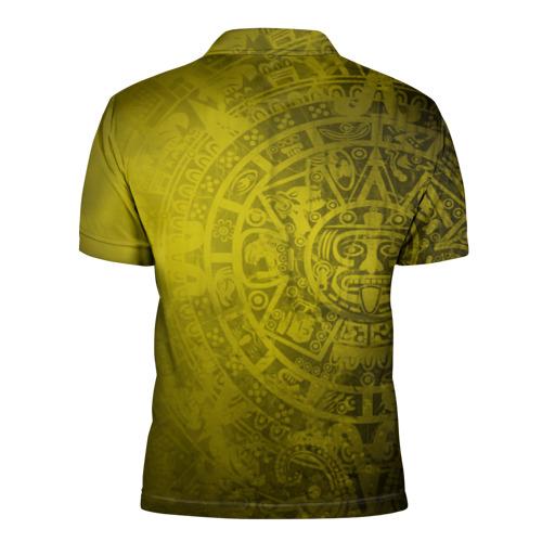 Мужская рубашка поло 3D  Фото 02, Народ Майя