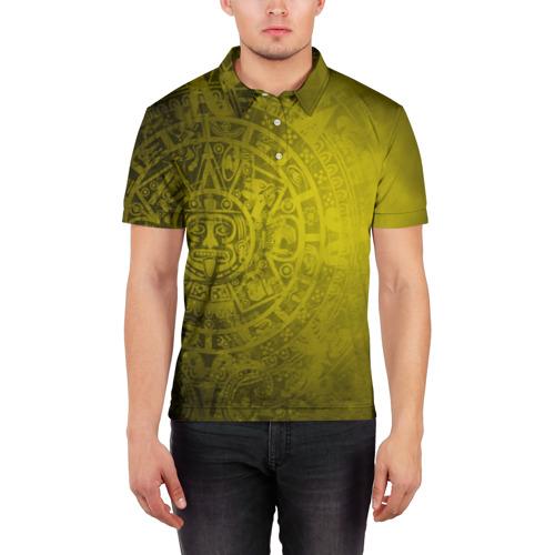Мужская рубашка поло 3D  Фото 03, Народ Майя