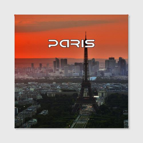 Холст квадратный  Фото 02, Paris