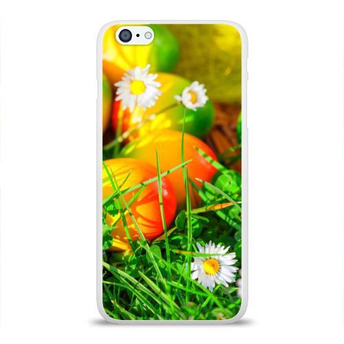 Чехол для Apple iPhone 6Plus/6SPlus силиконовый глянцевый  Фото 01, Пасхальные яйца