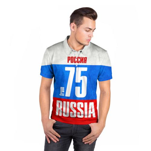 Мужская рубашка поло 3D  Фото 05, Russia (from 75)