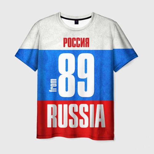 Мужская футболка 3D Russia (from 89)