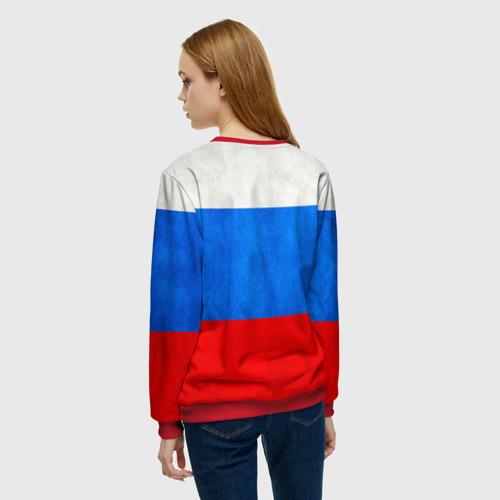 Женский свитшот 3D Russia (from 72) Фото 01