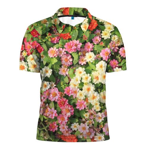 Мужская рубашка поло 3D  Фото 01, Весеннее настроение