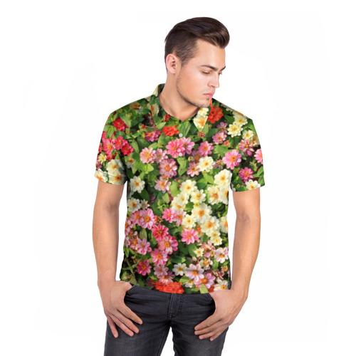 Мужская рубашка поло 3D  Фото 05, Весеннее настроение
