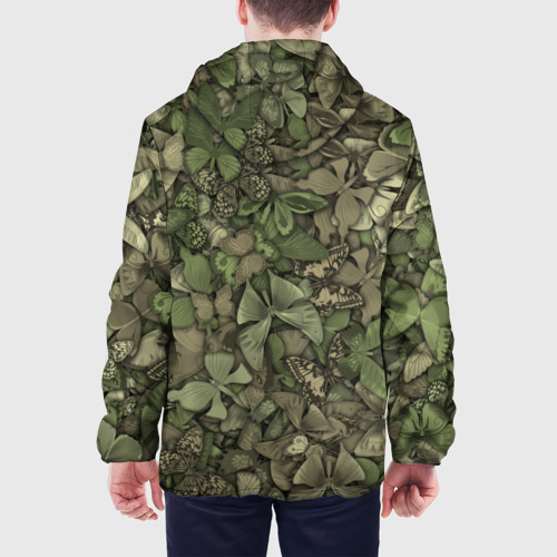 Мужская куртка 3D  Фото 05, Камуфляж с бабочками