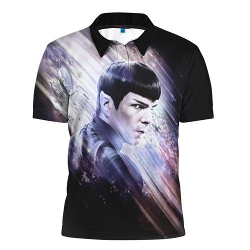 Мужская рубашка поло 3D  Фото 01, Star Trek