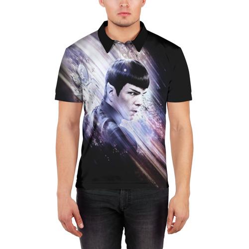Мужская рубашка поло 3D  Фото 03, Star Trek