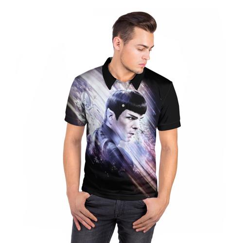 Мужская рубашка поло 3D  Фото 05, Star Trek