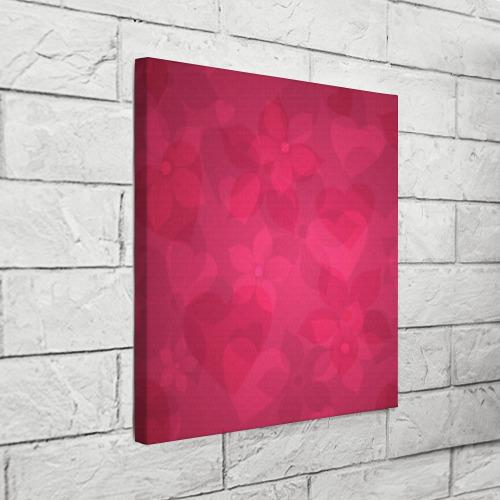 Холст квадратный  Фото 03, Цветы