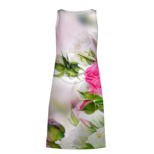 Платье-майка 3D Алые розы Фото 01