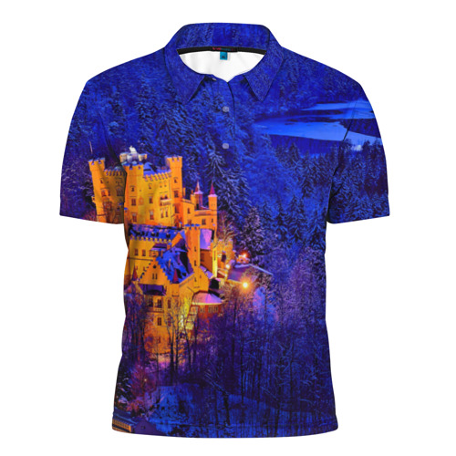 Мужская рубашка поло 3D  Фото 01, Бавария