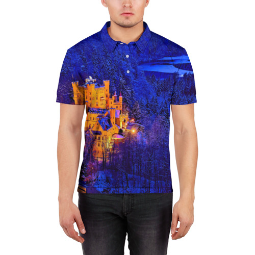 Мужская рубашка поло 3D  Фото 03, Бавария