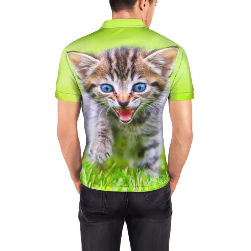 Мужская рубашка поло 3D  Фото 04, Кися