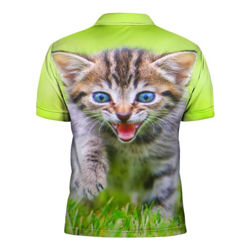 Мужская рубашка поло 3D  Фото 02, Кися