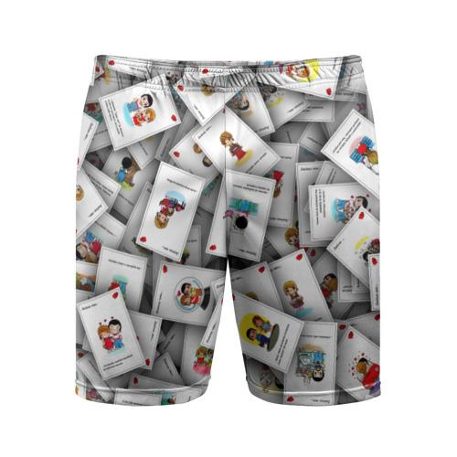 Мужские шорты 3D спортивные Вкладышы \