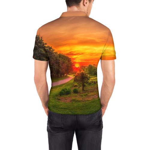 Мужская рубашка поло 3D  Фото 04, Канада