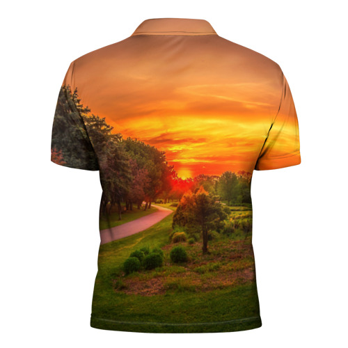 Мужская рубашка поло 3D  Фото 02, Канада