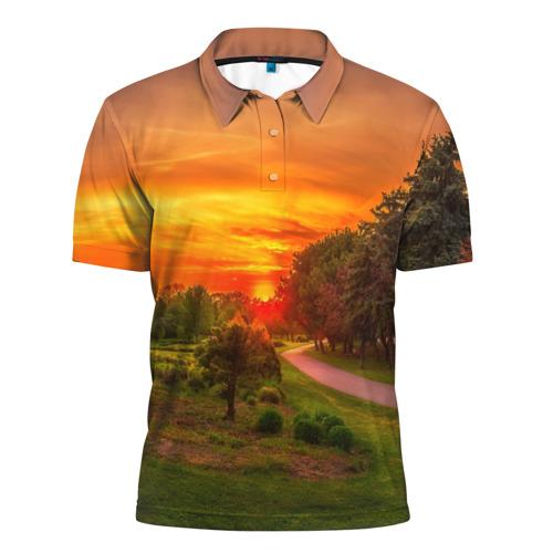 Мужская рубашка поло 3D  Фото 01, Канада