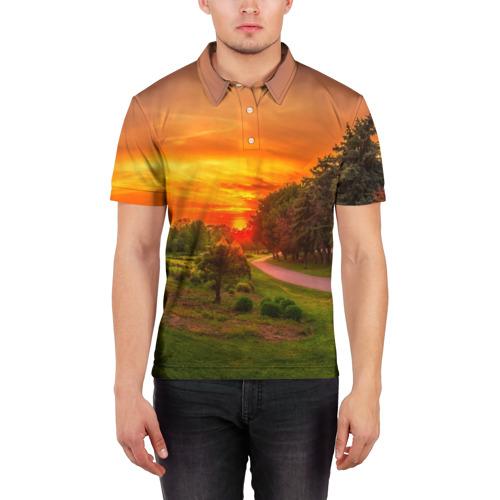 Мужская рубашка поло 3D  Фото 03, Канада