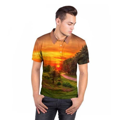 Мужская рубашка поло 3D  Фото 05, Канада