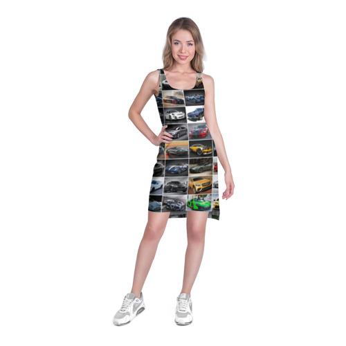 Платье-майка 3D  Фото 03, Крутые тачки (1)