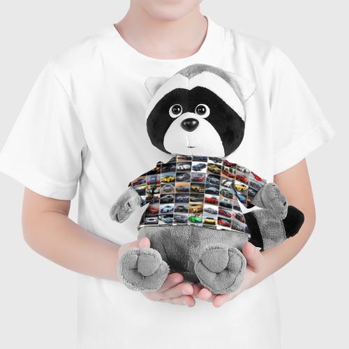 Енотик в футболке 3D  Фото 04, Крутые тачки (1)