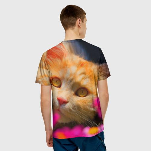 Мужская футболка 3D  Фото 02, Кошечка