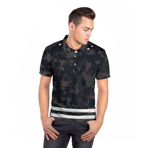 Мужская рубашка поло 3D  Фото 05, Camouflage